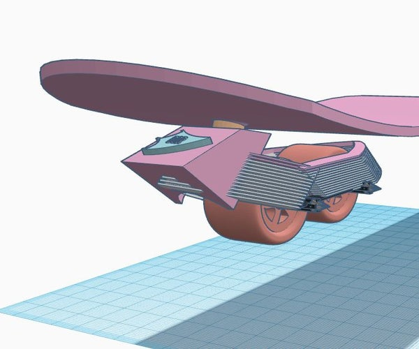Flexible Steering to Skateboard at Large Angles.