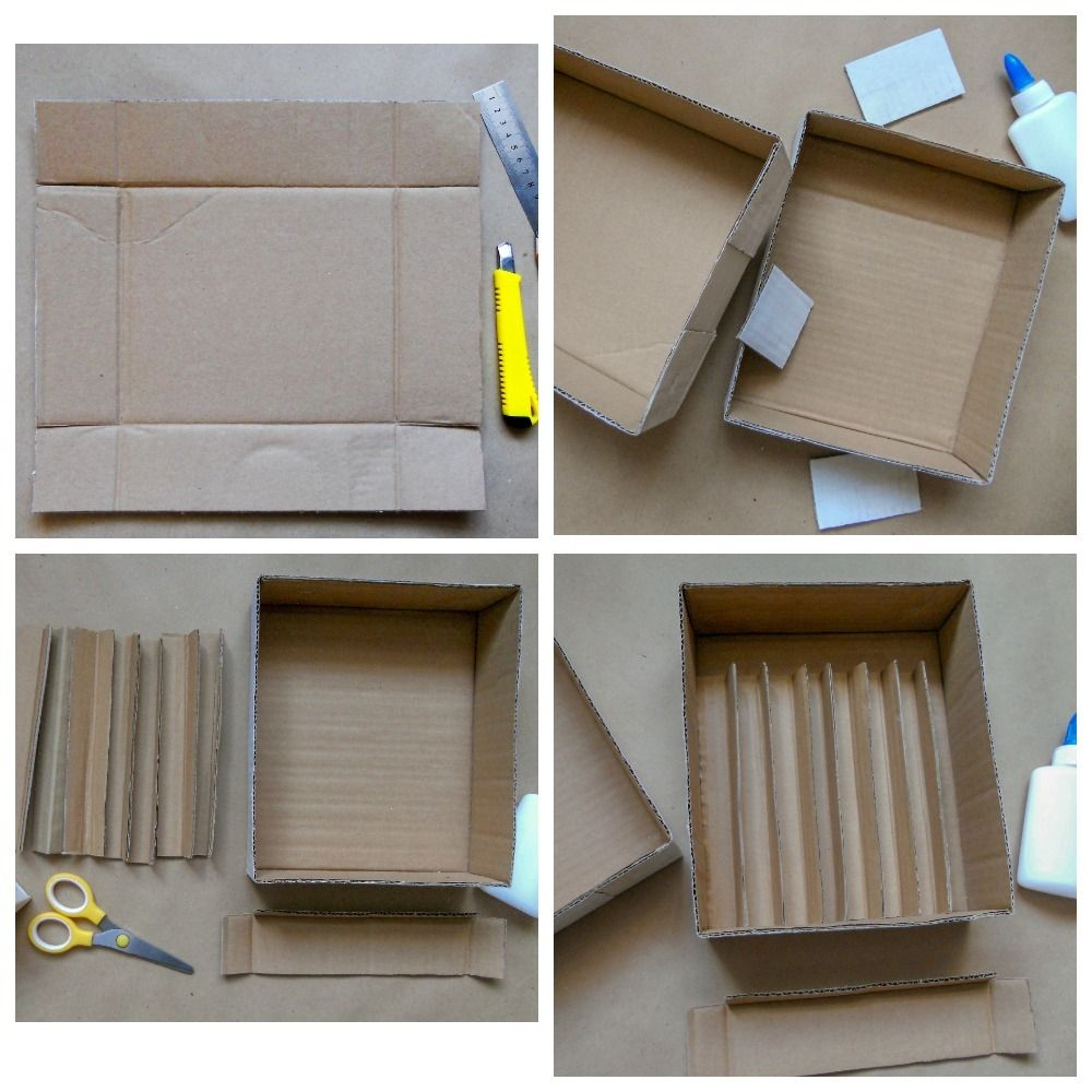 Picture of Making Boxes and Packing Materials for Experiments