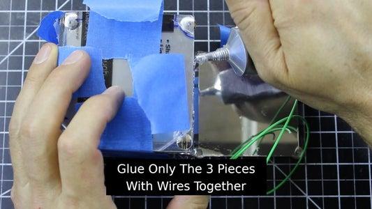 Glue Half the Box Together