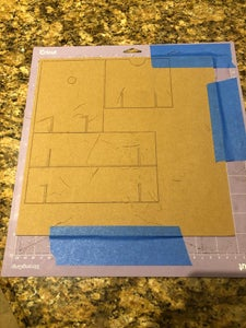 Cut Out Chipboard Frame