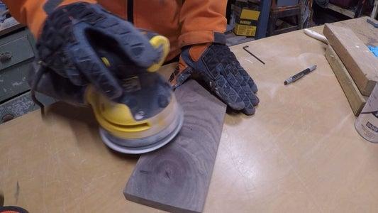 Step 5 - Sanding!