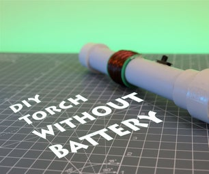 Emergency LED Torch Without Battery