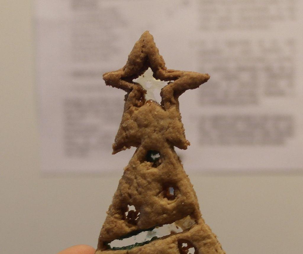 Christmas Tree Drawing Cookies