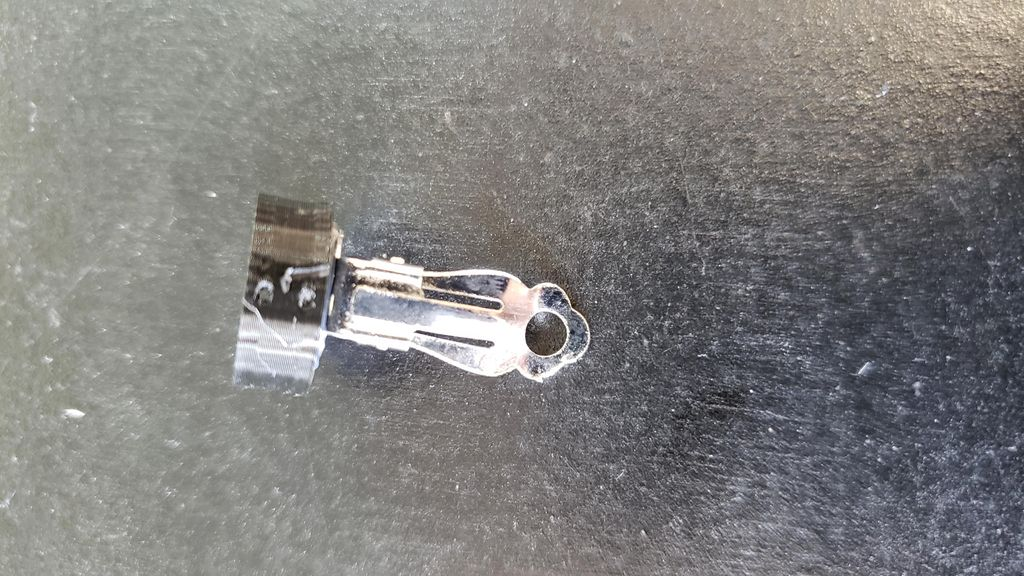 Picture of Attach the Holder to the Earring Blank