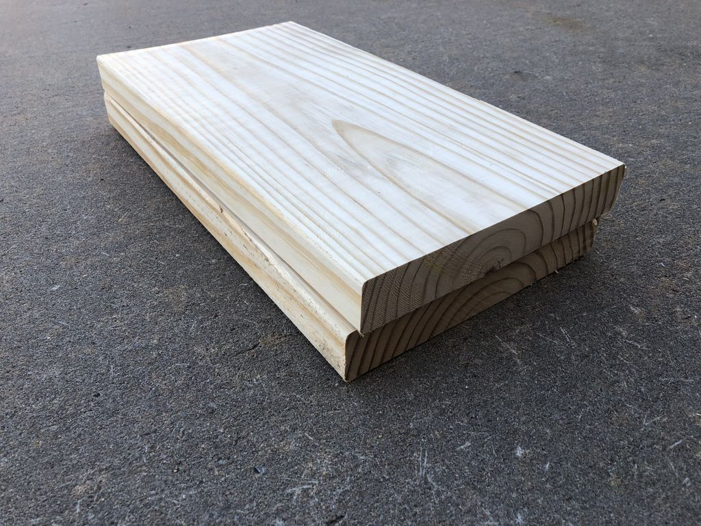 Picture of Cut Two 2x10s to 17.5""