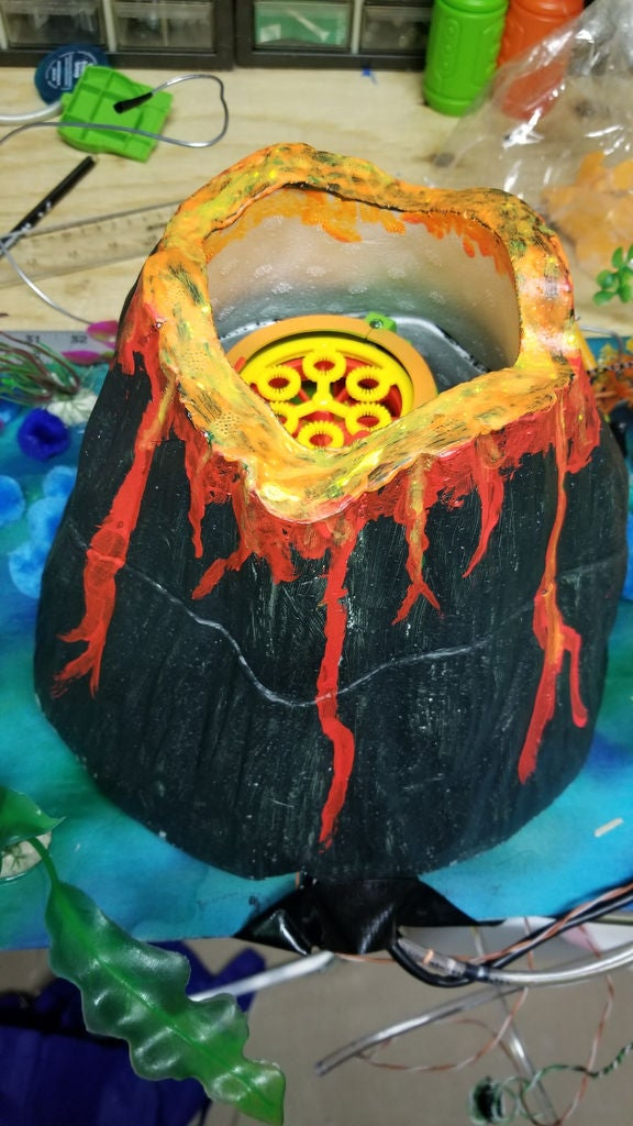 Picture of Part 5 - Build the Bubble Volcano