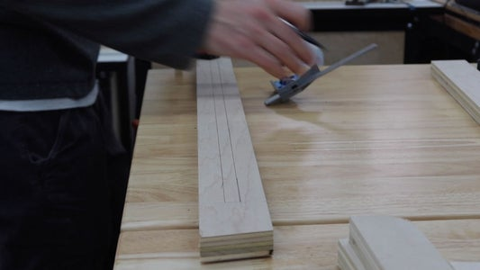 Router a Groove in 2 Leg Pieces