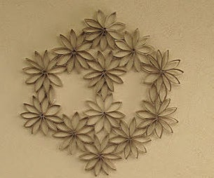 Paper Roll Wall Art