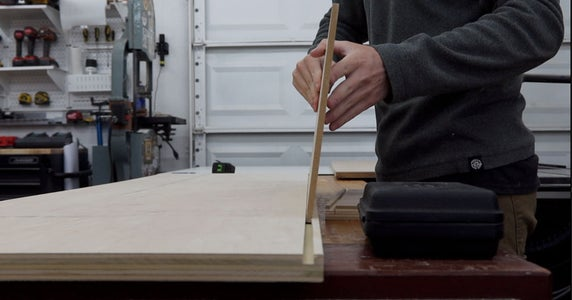 Router Out Grooves in Top and Bottom Pieces