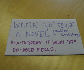 Writing a Novel: The Breakdown