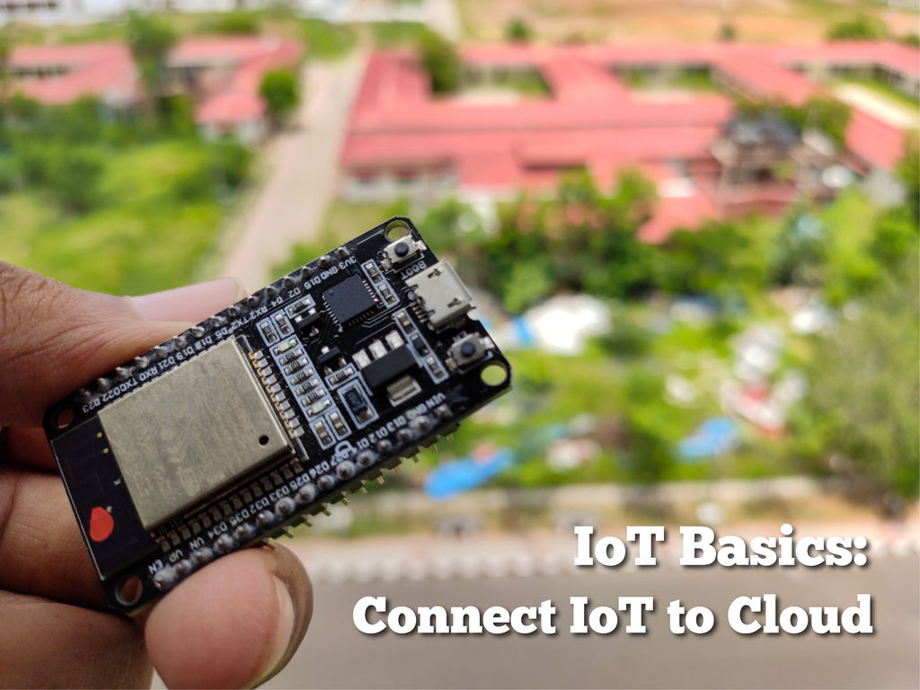 Picture of IoT Basics: Connecting Your IoT to the Cloud Using Mongoose OS