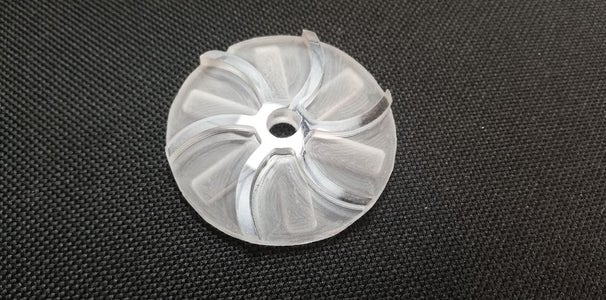 MACHINING OF THE IMPELLER