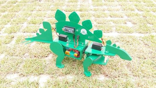 STEGObot: Stegosaurus Robot