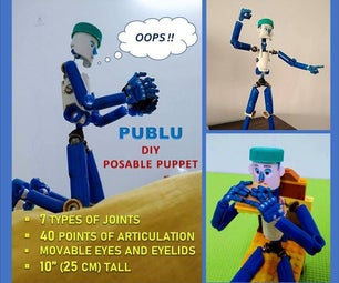 PUBLU: DIY Posable Puppet