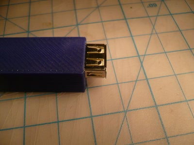 Push USB Into the Case