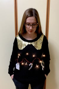 Ugly-chic Xmas Sweater