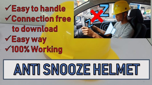Anti Snooze Helmet Tutorial , Easy Way, Connection Given, 100% Working, Without Arduino Code