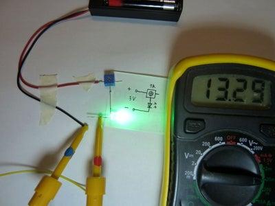 Adjusting Different Color LEDs