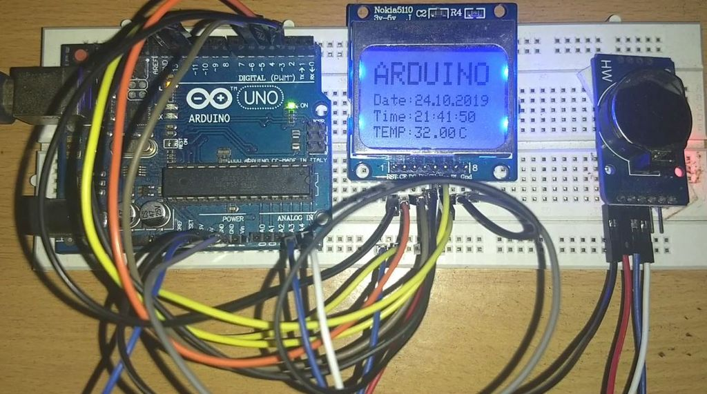 Picture of Simple Arduino Watch
