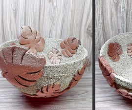 How to Make Bowl Vase for Decoration