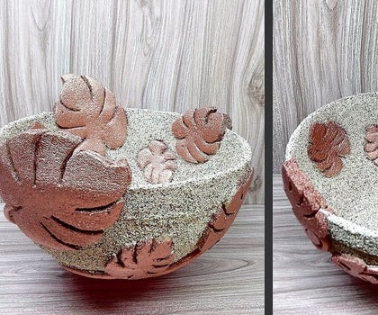 How to Make Bowl Vase for Decoration