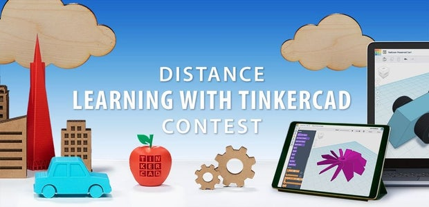 Distance Learning with Tinkercad Contest
