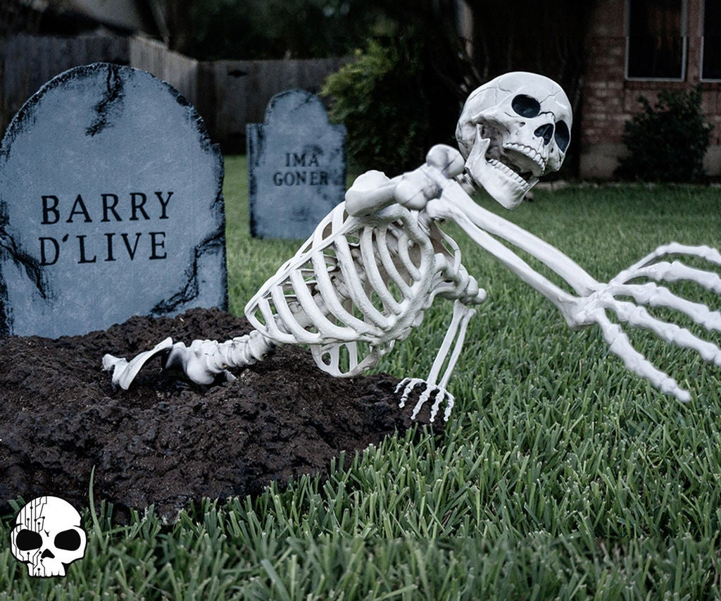 Picture of Graveyard Skeleton