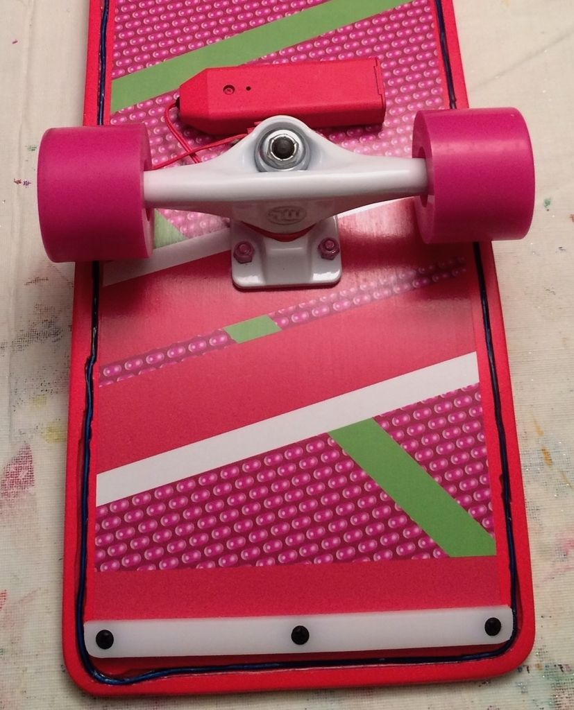 Picture of Adding a Skeboard Rail to the Back