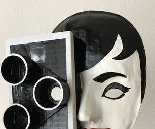 A Movie Themed Mask