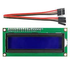 Picture of LCD and I2C