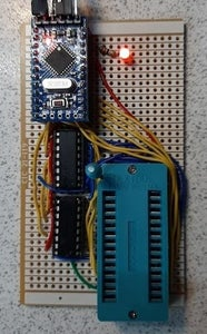 Programming the EEPROM