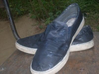 Permanent Shoe Dyeing Technique
