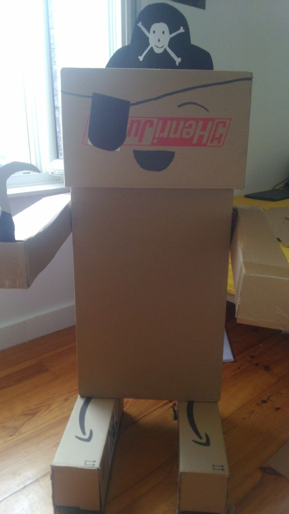Picture of Cardboard Robot Decoration