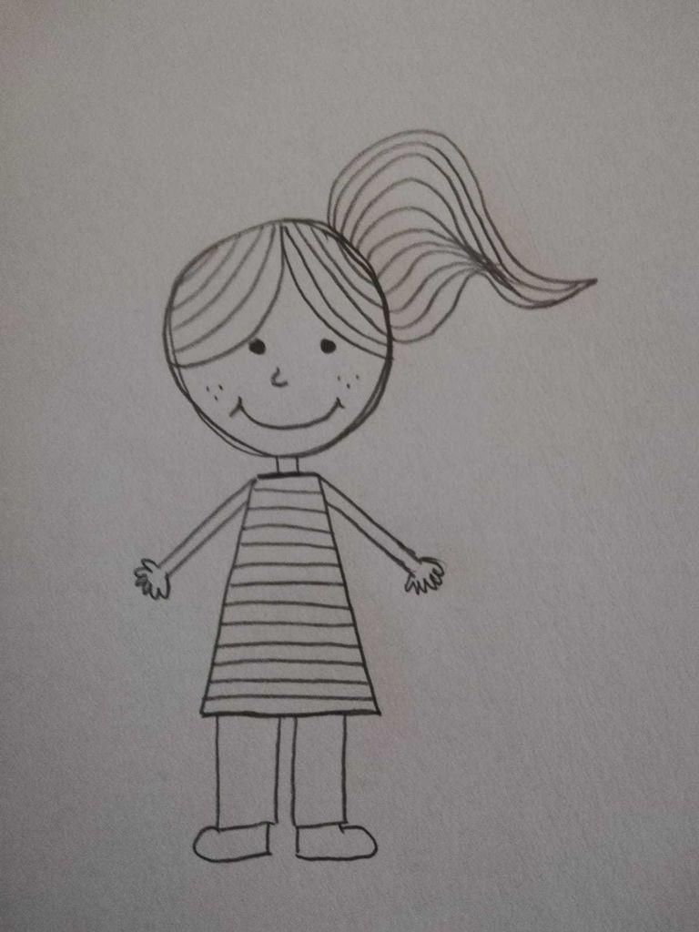 Picture of How to Draw a Girl