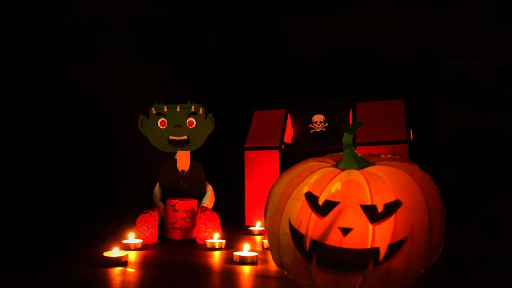 Picture of DIY Creepy Frankenstein Halloween Doll - Trick or Treat Halloween Prank