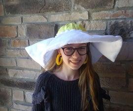 煎一面蛋帽子