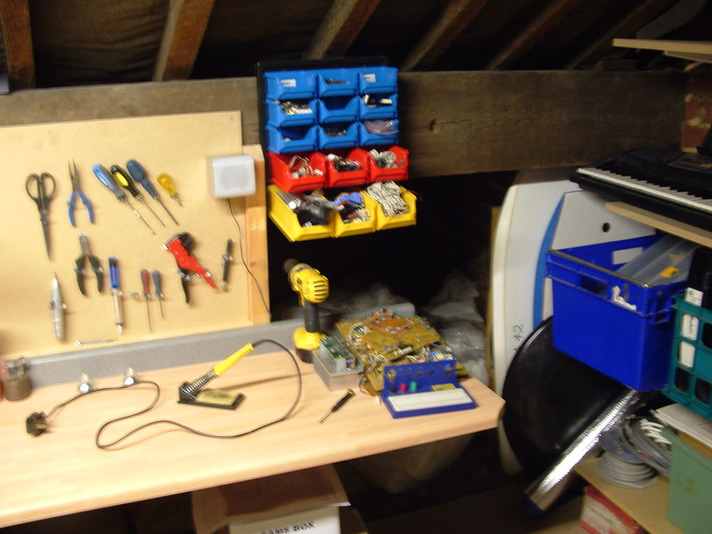 Picture of My Loft Workshop