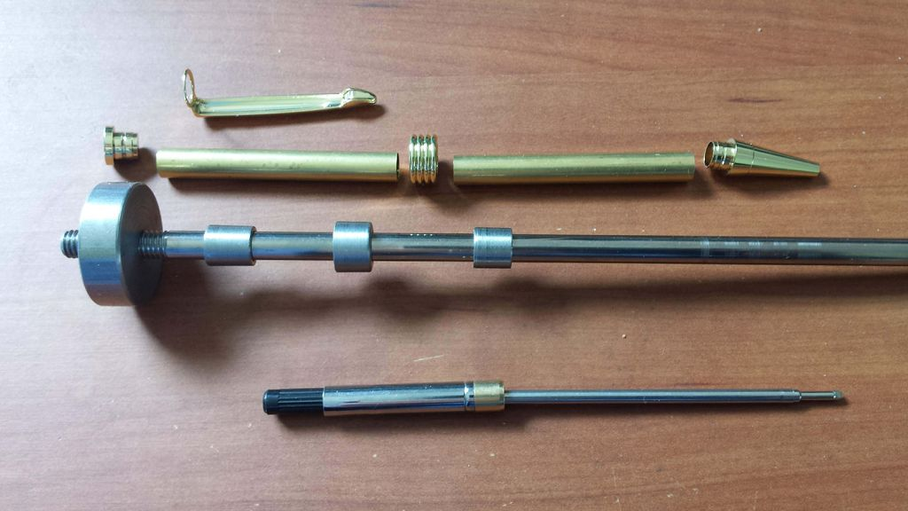 Picture of Making a Pen Turning Mandrel Kit From Scrap