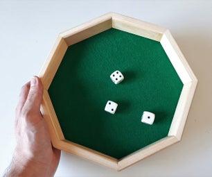 板条骰子盘