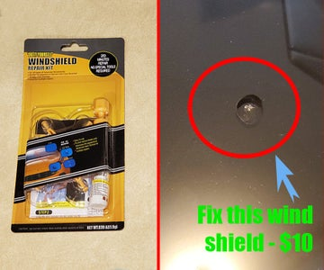 Repair a Wind Shield for $10