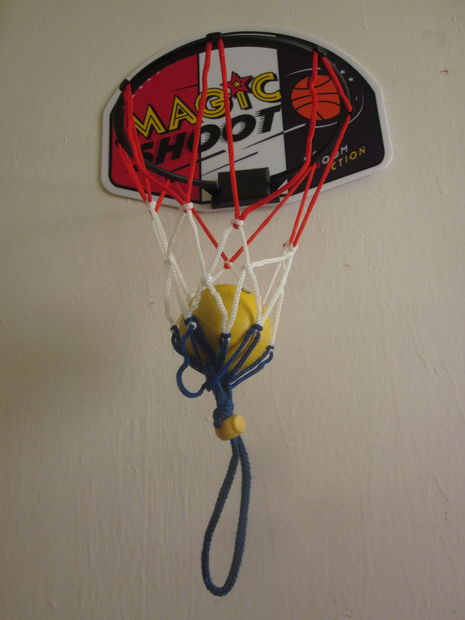 Indoor Basket-Ball Holder