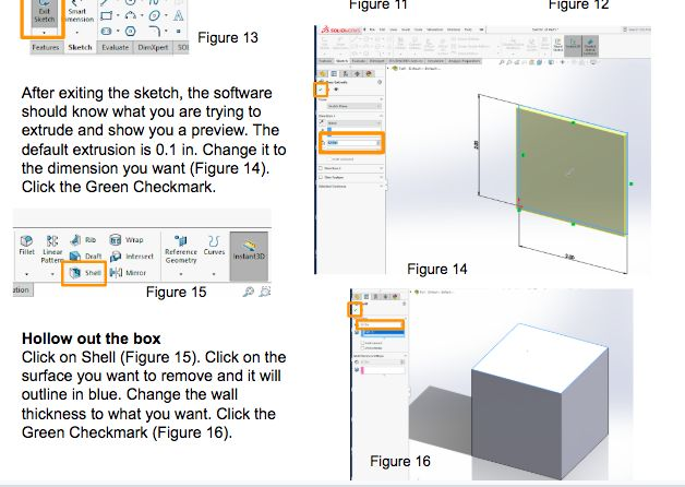 Picture of Create Your Box in Solidworks