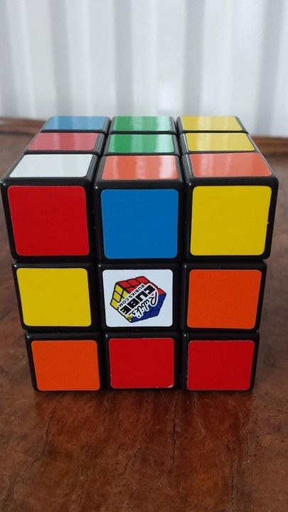 Picture of How to Solve a Rubix Cube - the Easy Way