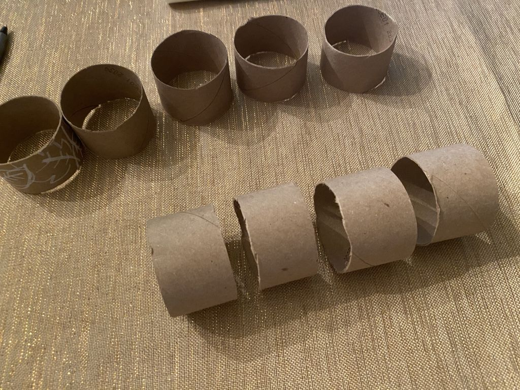 Picture of Cut Toilet Paper Roll