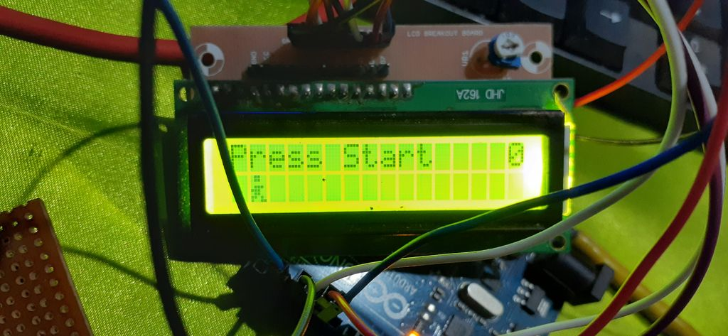 Picture of Arduino Runner Game
