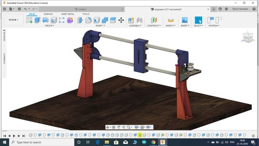 BASE BOARD PREPARATION AND X AXIS MOUNTING