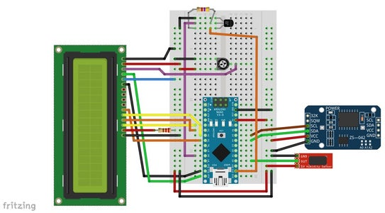 Start With the Breadboard Connections As the Scheme Is Showing