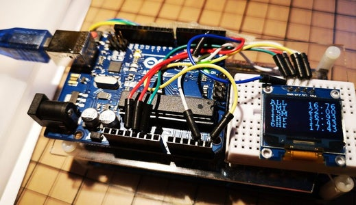 Geiger Counter for Arduino With SSD1360 Display