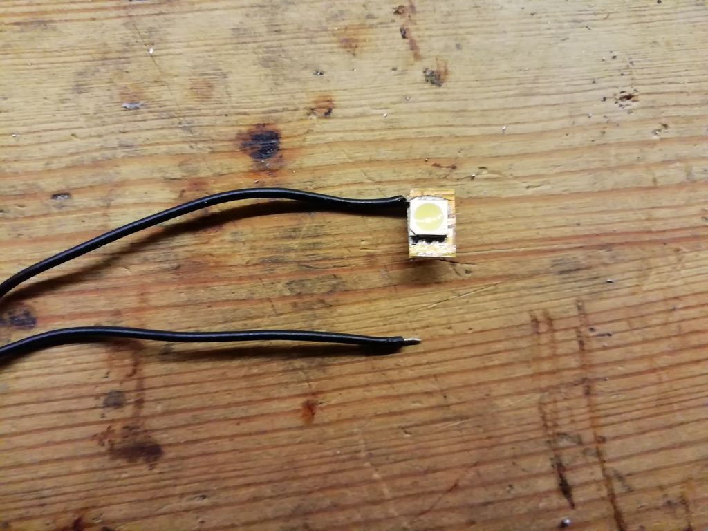 Picture of Attach Leads to the Chip.