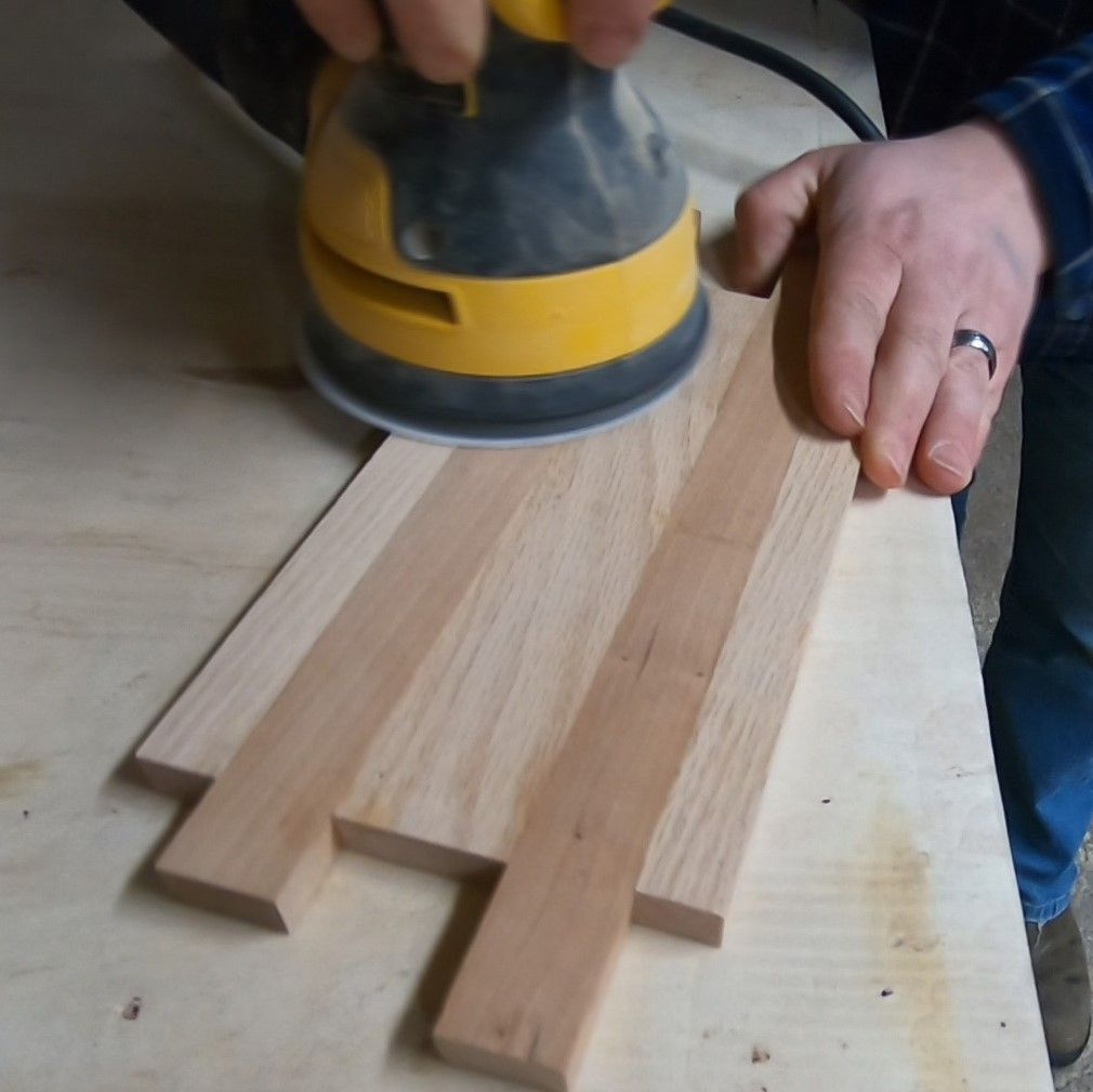 Picture of Removing Excess Glue and Rough Sanding